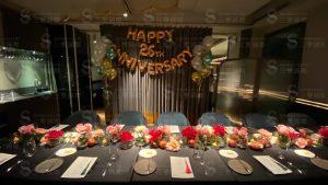 企業總裁夫妻26週年結婚紀念日派對